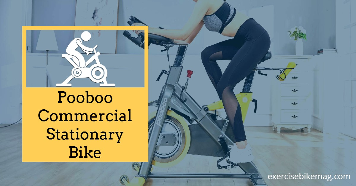Pooboo Commercial Stationary Bike Review